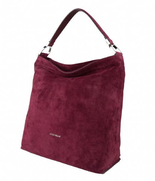 Keyla Suede grape Coccinelle   The Little Green Bag