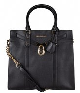 Michael Kors Large Ns Tote black & gold colored hardware
