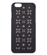 Michael Kors iPhone 6 Cover Flora black nickel