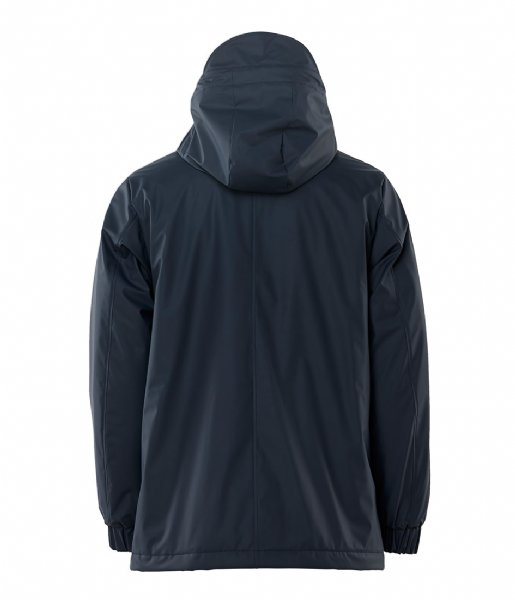 Rains  Quilted Parka blue (02)