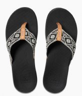 Reef Reef Ortho Bounce Woven black white