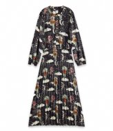Scotch and Soda Girls All-over printed maxi- length pleated dress Combo Z (605)
