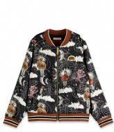 Scotch and Soda Girls All-over printed reversible bomber Combo Z (605)
